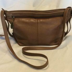 Stone Mountain Leather crossbody / shoulder bag